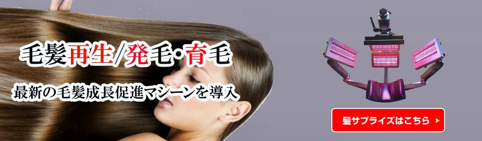 髪サプライズ